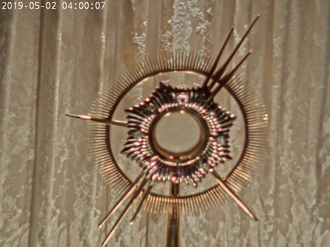 Adoration of Blessed Sacrament Live