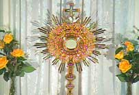 Virtual Eucharist Adoration